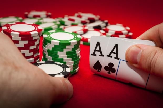 Games played in online poker tournaments